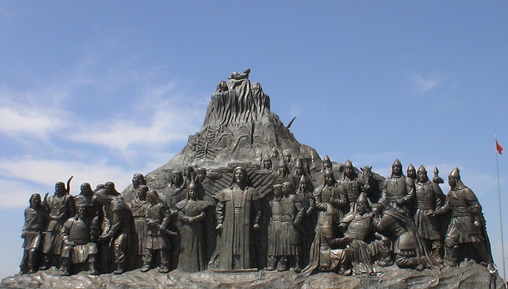 2006年莪迩所思雕塑群之《一代天骄》~