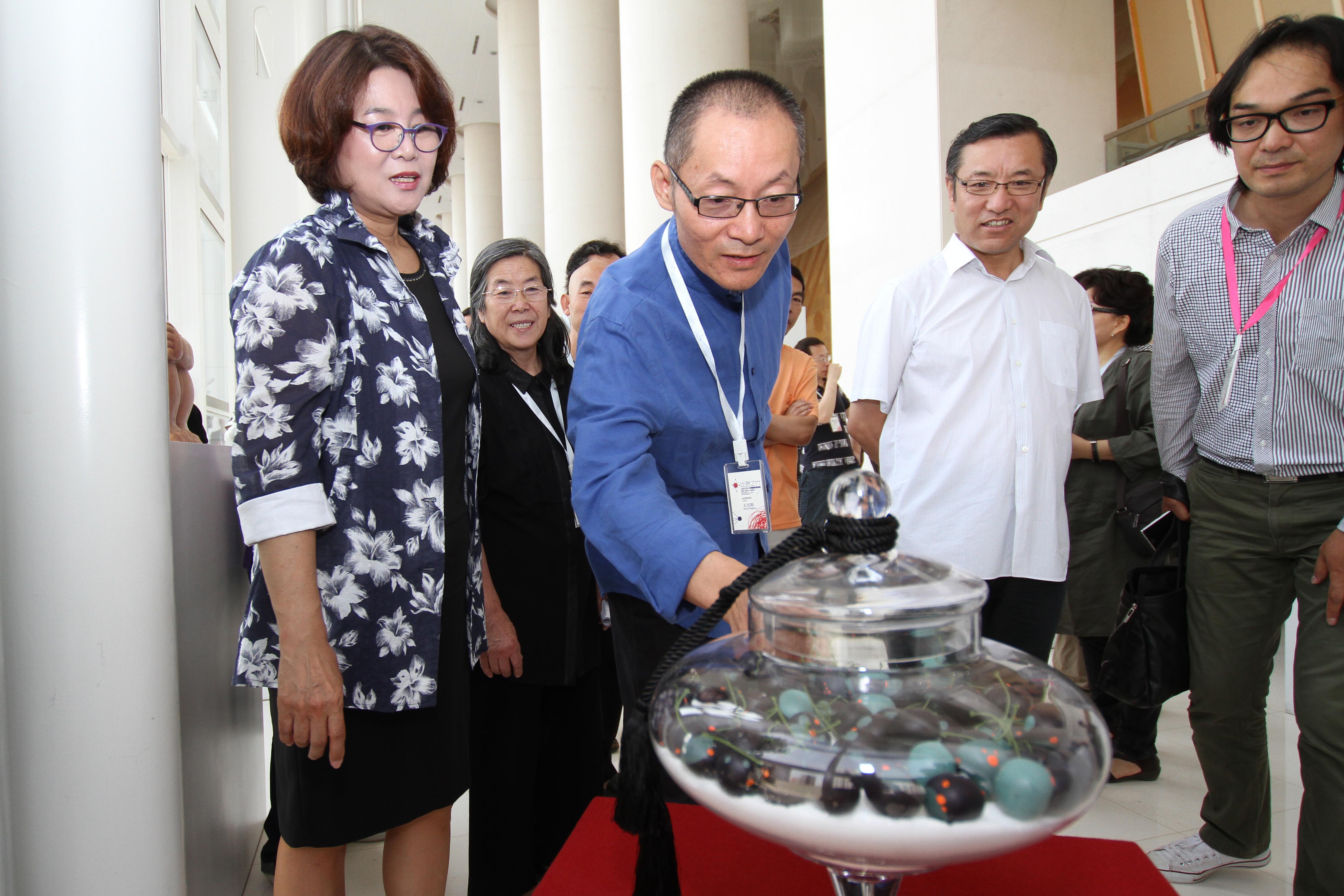 丝路之光 2015兰州中韩雕塑邀请展 (4)