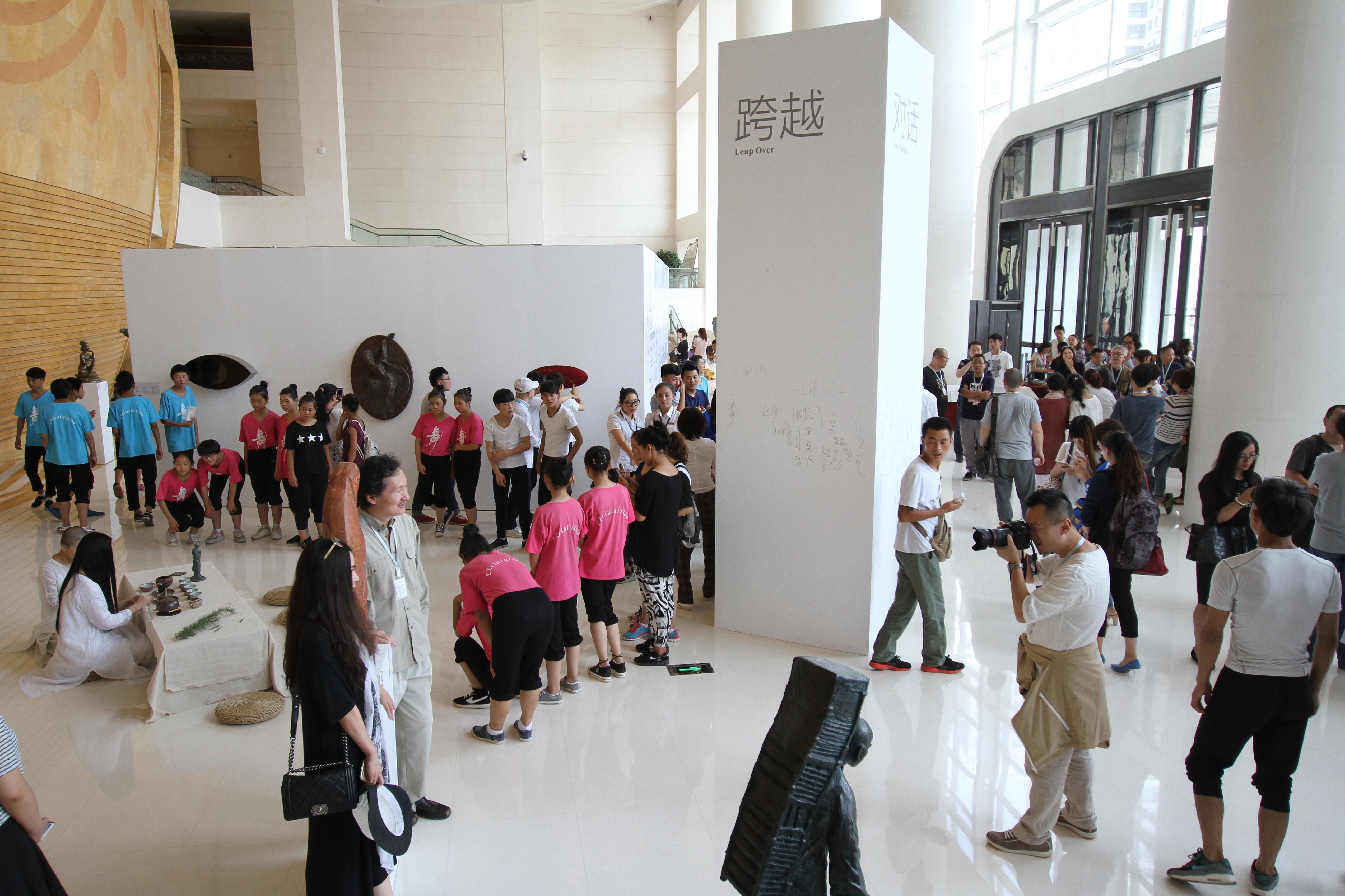丝路之光 2015兰州中韩雕塑邀请展 (5)
