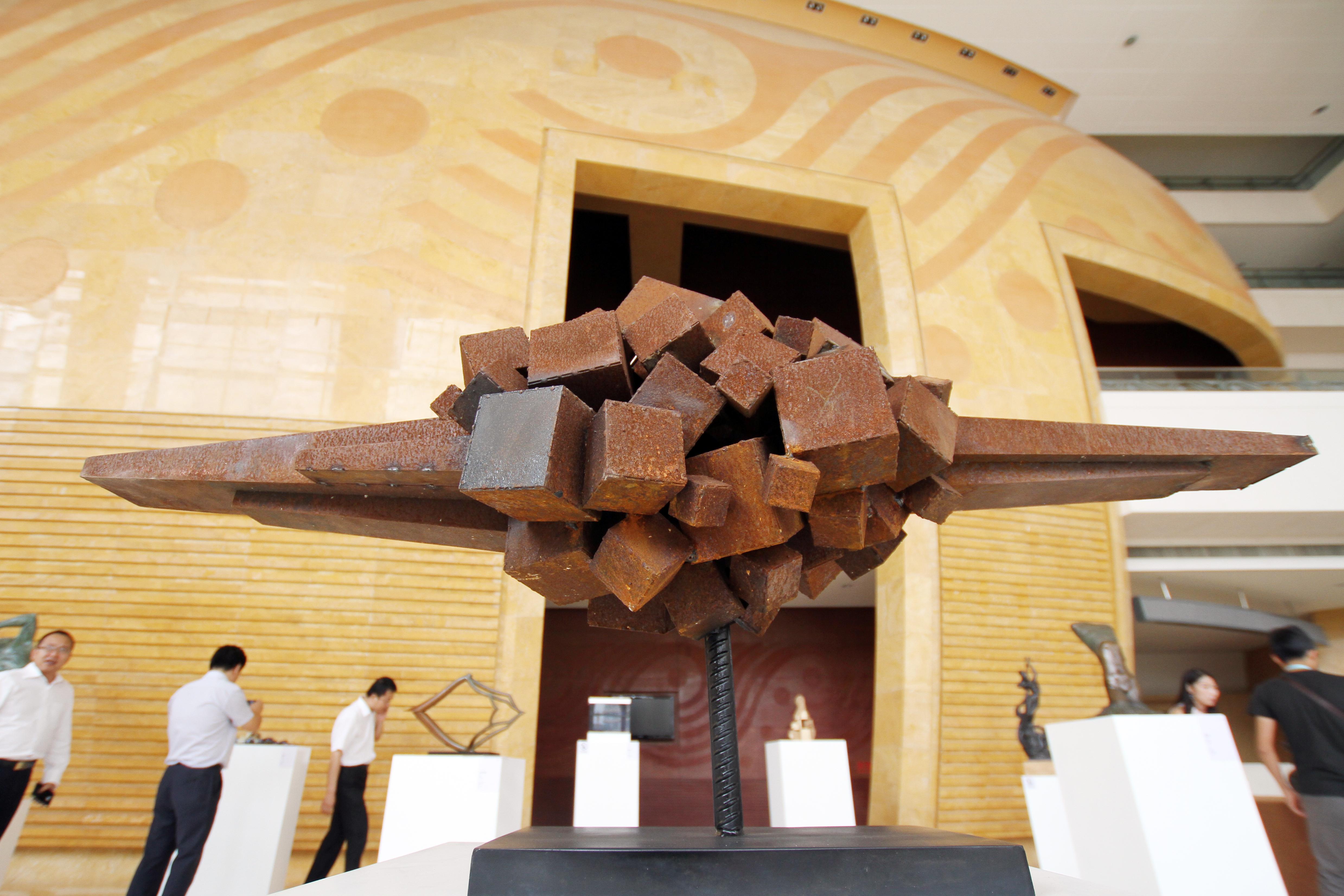 丝路之光 2015兰州中韩雕塑邀请展 (10)