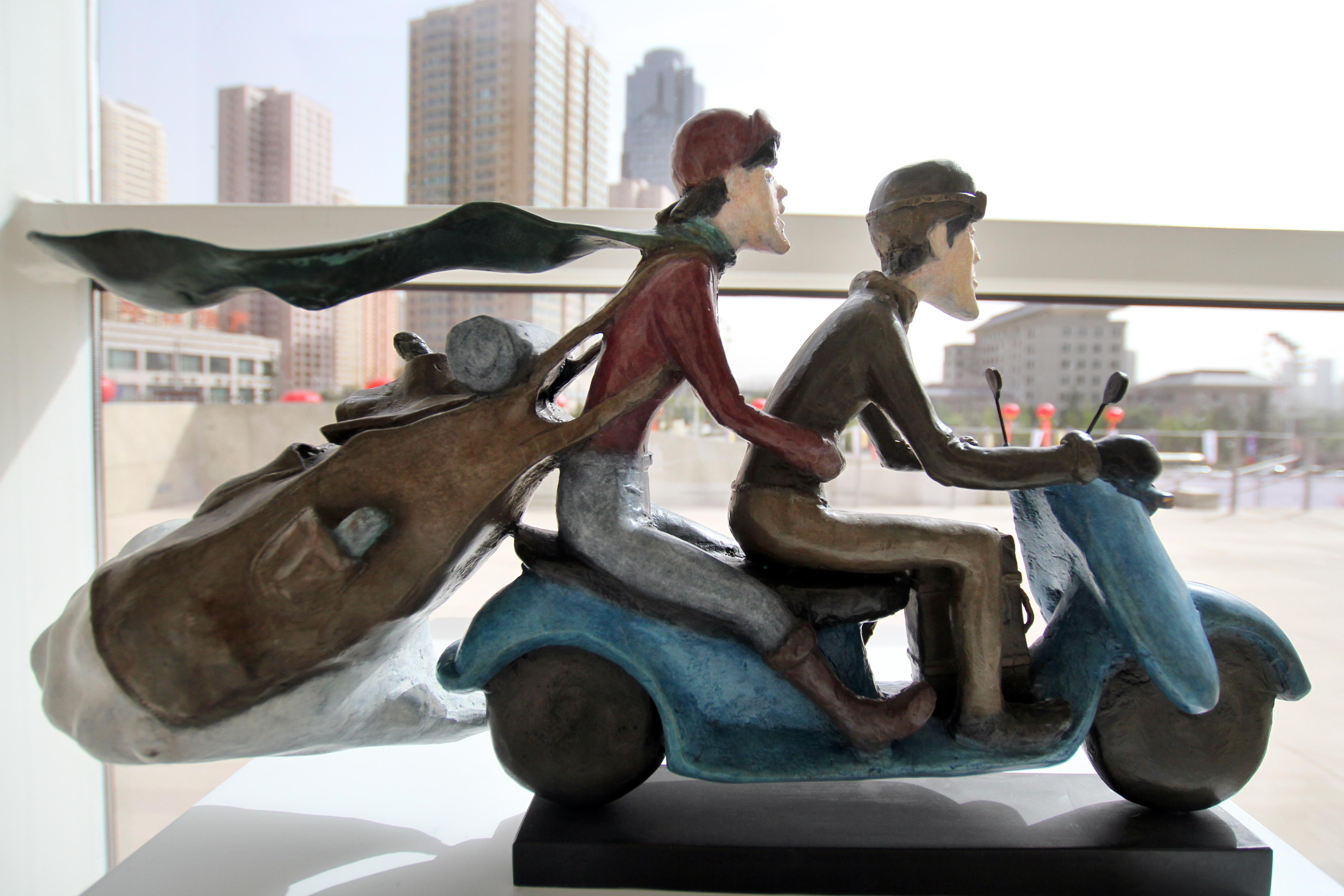 丝路之光 2015兰州中韩雕塑邀请展 (11)